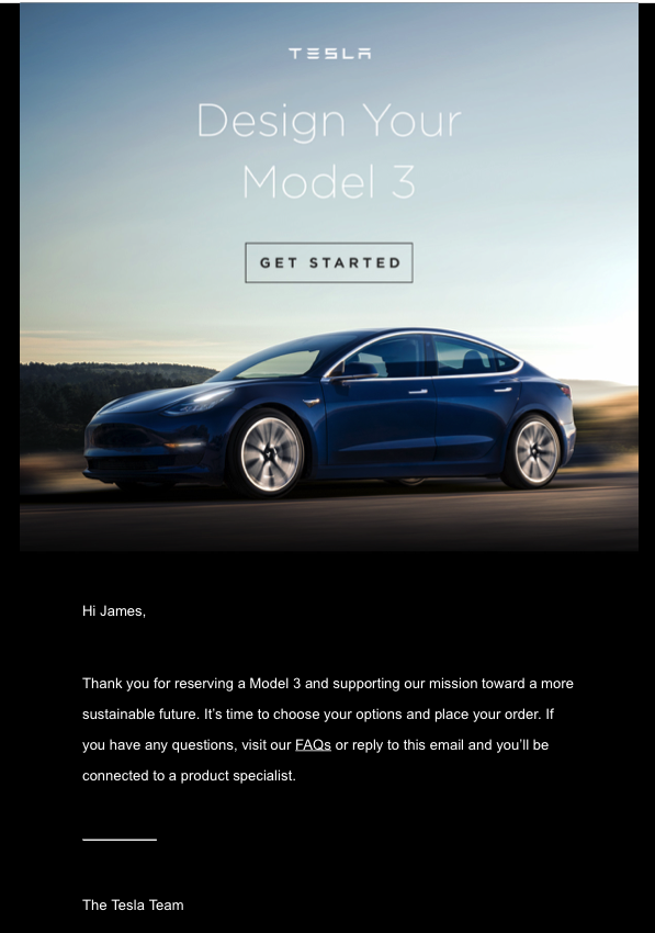 Design Your Model 3